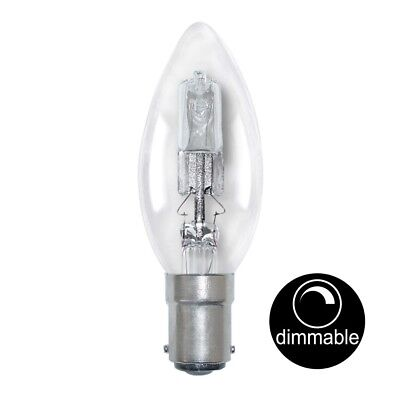 AU14.90 • Buy LUSION Halogen Candle Light Bulb SBC B15 240V 28W(40W) Clear Dimmable 30114
