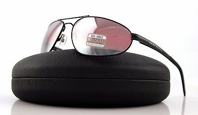 $197.32 • Buy POLARIZED New Genuine SERENGETI COMO Sedona Satin Dark Gunmetal Sunglasses 8396