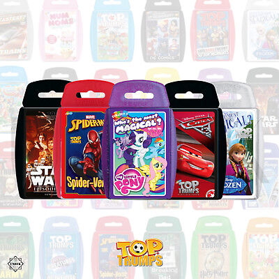 £6.25 • Buy Top Trumps Cards Game - Top Trumps Rare: Marvel, Top Gear, Dr Who Trivia Cards