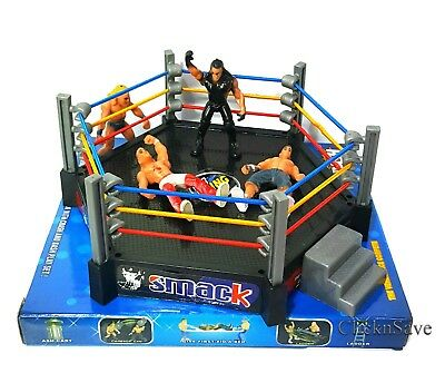 WWE Action Figures Smack Down RAW Wrestler Superstar Fight Ring • 7.99£