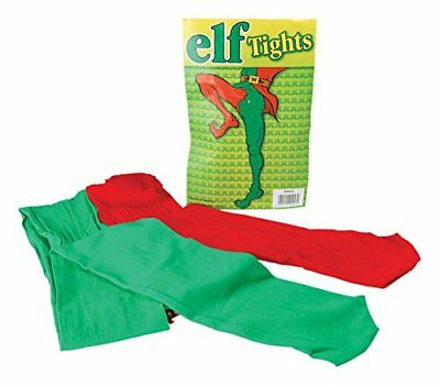 Mens Green Tights Red And Green Elf Pixie Robin Hood Christmas Play Theatre • 3.99£
