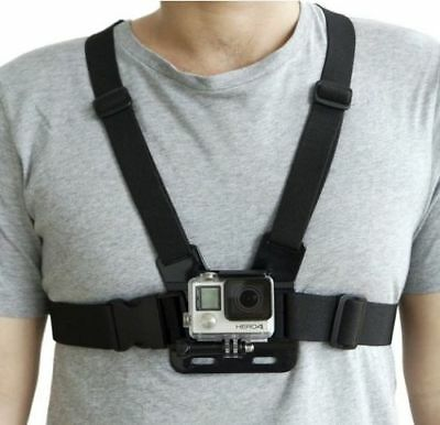 AU7.83 • Buy Adjustable Elastic Chest Strap Harness Mount For GoPro HD Hero 1 2 3 4 5 6 7 8