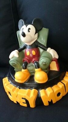 £255.10 • Buy Extremely Rare! Walt Disney Mickey Mouse In Chair Demons & Merveilles Fig Statue