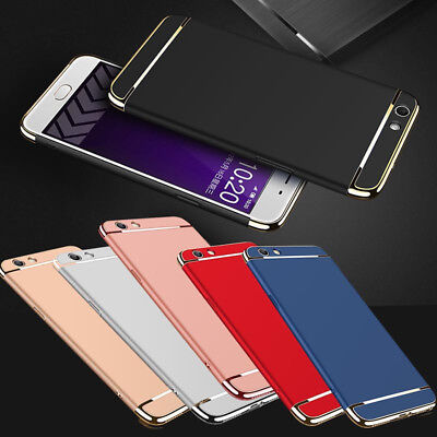 AU5.60 • Buy For Oppo A57 A59 F1S Snap On Full Edge Chrome Hard Case Back Cover