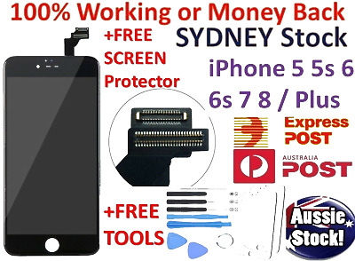 AU25.95 • Buy IPhone 6 6s Plus 7+ 8 5s LCD Touch Screen Replacement Digitizer Display Assembly