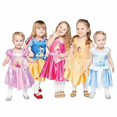 Official Disney Princess Girl Fancy Dress Costume Christmas Panto Gift Baby Gown • 12.13£