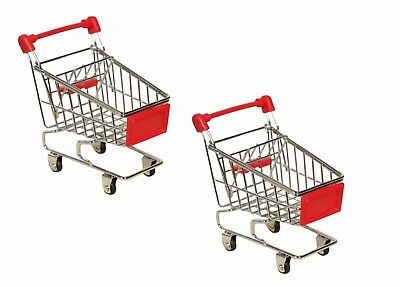 £14.38 • Buy Brand New Mini Shopping Handcart Trolley With Seat Rolling Wheels Kids Children
