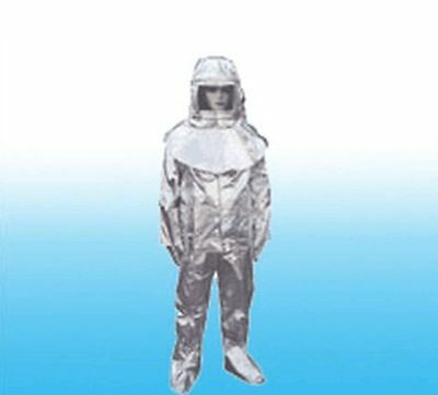 Thermal Radiation 1000 Degree Heat Resistant Aluminized Suit Fireproof Clothes B • 132$