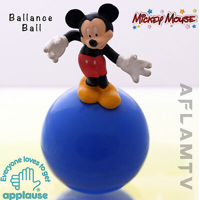 £10.70 • Buy Mickey Mouse Balance Ball Figure Figurine RARE Vintage New By Applause - Disney