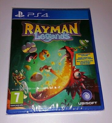AU59.41 • Buy RAYMAN LEGENDS PS4 New Sealed UK PAL Version Game Sony PlayStation 4 (Kids Game)