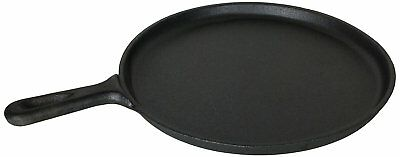 £19.99 • Buy Brand New Black Pre-Seasoned Cast Iron Crepe Pan/Griddle For Healthy Cooking