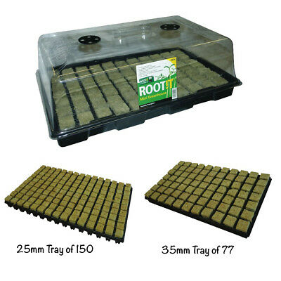 £19.99 • Buy ROOT IT Propagation 77 Or 150 Cultilene Cube Hydroponics Grow Seed Complete Kit