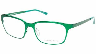 8f417ad6153 NEW PRODESIGN DENMARK 1292 C.9521 GREEN EYEGLASSES FRAME 51-17-135 B35mm