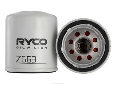 AU16.96 • Buy Ryco Oil Filter Z663 Fits Jeep Renegade 2.4 Trailhawk 4x4 (BU)