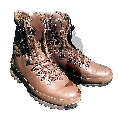$69.47 • Buy BRITISH ARMY - ALTBERG Defenders Combat Boots Brown Leather Mens