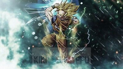 "Dragon Ball Z  Print Anime Poster Size up to 33x48/"" Manga Gift Wall Decor T388"