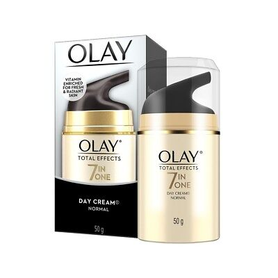 AU21.95 • Buy Olay Total Effects 7 In One Day Cream Normal 50g Reduce Wrinkles Anti-ageing