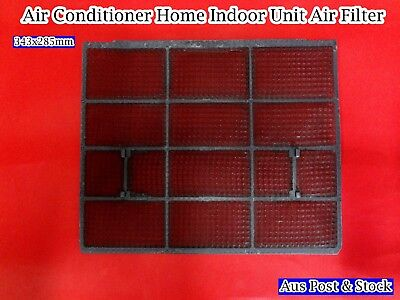 AU17.39 • Buy Air Conditioner Home Indoor Unit Air Filter Wall Split Aircon 343mm X 285mm F57