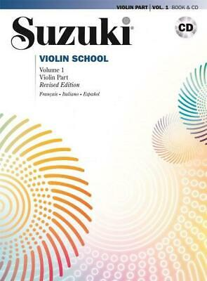 AU26.15 • Buy Suzuki Violin School Vol. 1  Violin Shinichi Suzuki Book With CD VOLMB295