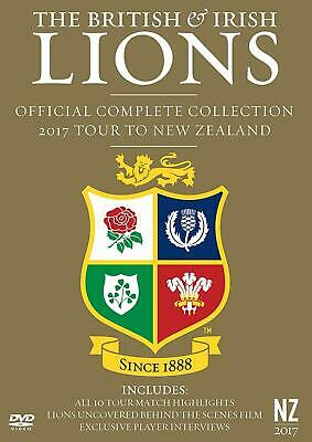 £40.99 • Buy British And Irish Lions: Official Complete 2017 Tour To New Zealand (DVD)