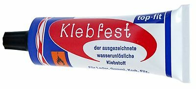 £4.99 • Buy Klebfest Shoe Repair Super Strong Glue 60g Contact Adhesive Leather Rubber