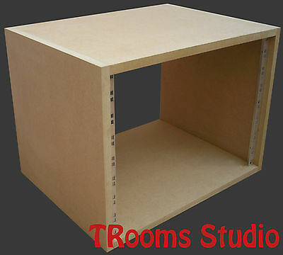 8u UNIT 19  INCH RACK CABINET RECORDING STUDIO FURNITURE 400mm Deep • 32.99£