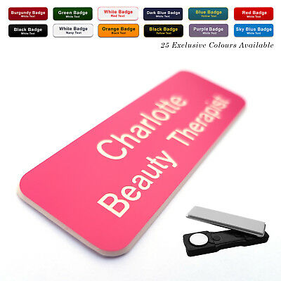 £2.40 • Buy MAGNET Custom Engraved Name Badge Midwife Staff Nurse Student Doctor Surgery GP