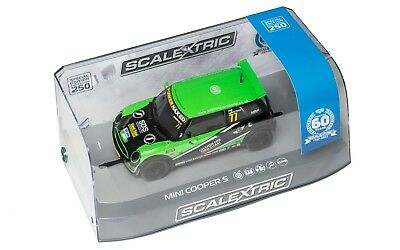 Scalextric C3743A 60th Special Edition Mini Cooper S Challenge 2015, Mint Unused • 39£
