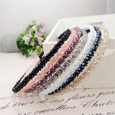 $1.33 • Buy Ladies Girl Women Crystal Rhinestone Headband Hairband Wedding Party Headwear