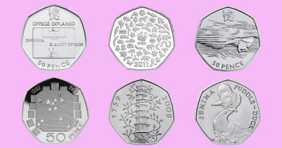 50p RARE VALUABLE 50 Pence Kew Gardens Plus All Hard To Find  • 1.99£