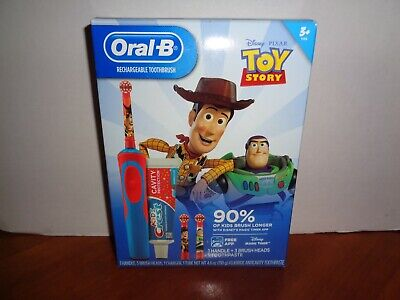 AU32.23 • Buy Oral-B Kids Toy Story 4 Electric Timer Toothbrush Kit 3 Brush Heads & Toothpaste
