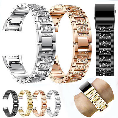 AU13.35 • Buy For Fitbit Charge 2! 2018 Diamond Replacement Bangle Bracelet Strap Wrist Band