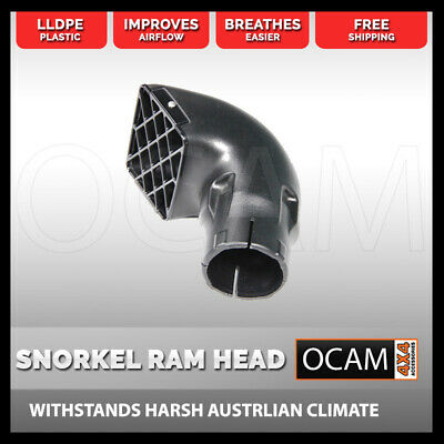 AU29 • Buy LLDPE Snorkel Ram Head 3.5 Inch ( 85mm) To Suit 4x4, 4WD, Tractor