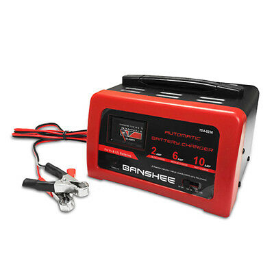AU84.90 • Buy 10 Amp 6/12 Volt CAR BATTERY CHARGER MAINTAINER DEEP CYCLE AGM