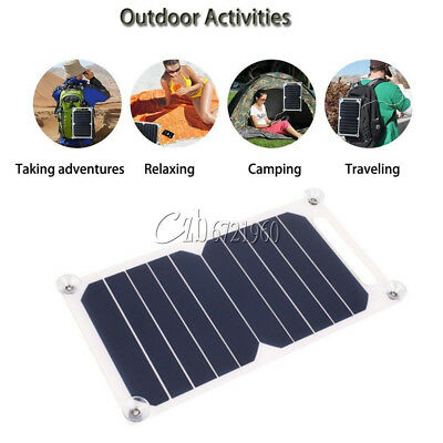 £8 • Buy 10W 5V Portable Solar Power Panel Charger For Samsung IPhone Tablet Pad