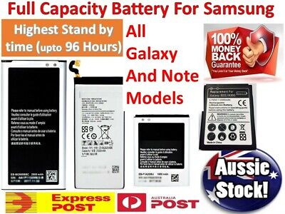 AU12.90 • Buy TOP OEM Battery For Samsung Galaxy Note 9 8 5 4 S3 S4 S5 S6 S7 S8 Plus S9 S10e