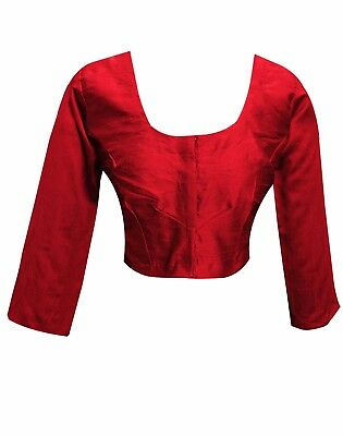 £14.99 • Buy Indian Women's Asian Bollywood Fashion Stitched Saree BLOUSE Crop Top Choli 4001