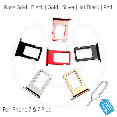 £2.19 • Buy Replacement Nano Sim Card Tray Slot Holder For Apple IPhone 7 & IPhone 7 Plus +
