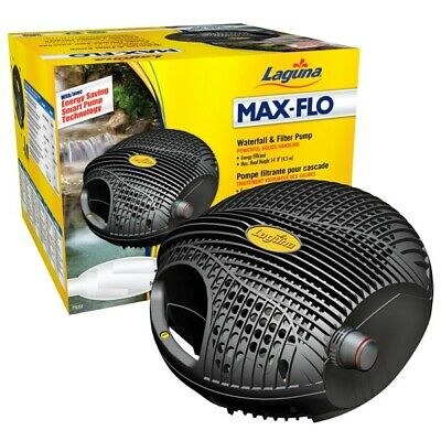Laguna Pond Max-Flo Waterfall & Filter Pump 2200 4000 5000 7600 9000LPH Low Cost • 185.99£