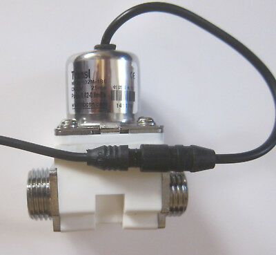 $14.15 • Buy 1/2 Inch Latching Pulse Solenoid Valve NPSM Water 6 VDC Low Power USA Ship
