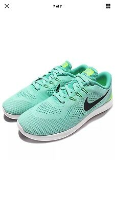 09f6e7ccd867 Nike Free RN (GS) Youth Girl s Running Shoes 833993-300 Turquoise Black Jade