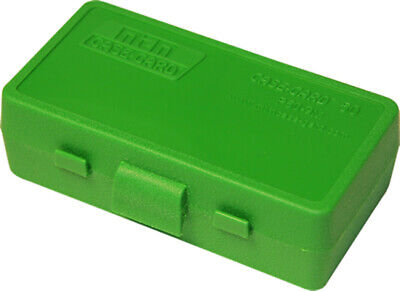 AU7.29 • Buy MTM Pistol Ammo Box 50 Round Flip-Top 9mm 380 ACP Green P50-9M-10