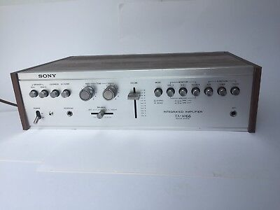 $ CDN400.02 • Buy Vintage Sony Amplifier TA-1066 Silver Face Turntable Stereo Setup TESTED WORKING