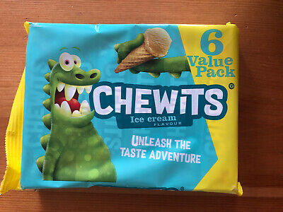 6 X 30g Packs Of Chewits Ice Cream Flavour Retro Sweets • 3.50£