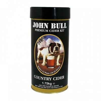 John Bull Country Cider - 1.75kg - 40 Pint Homebrew Ingredient Kit • 17.96£