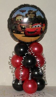 Disney Cars - Lightening Mcqueen - Foil Balloon Display - Table Centrepiece • 4.99£