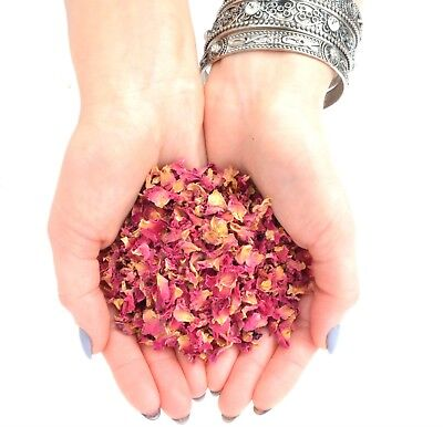 Edible Rose Petals - Tea, Tincture, Infusion, Cake Decor, Cooking, Dried Flowers • 4.09£