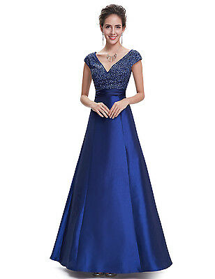 £34.99 • Buy Ever Pretty Maxi Dress Blue Size 14 Women's/Long/Evening/Party/Formal/Prom/NEW