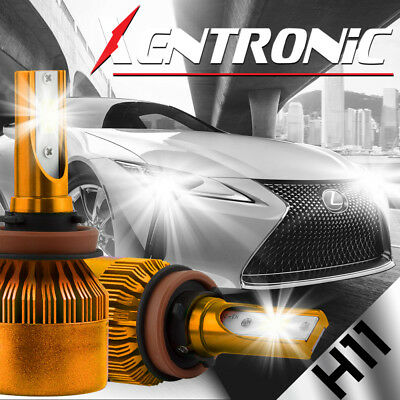 $19.99 • Buy XENTRONIC LED HID Headlight Conversion Kit H11 6000K For 2007-2016 Toyota Camry