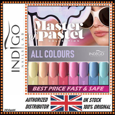 INDIGO NAILS LAB NEW TOLERANCE COLLECTION-ALL COLOURS-Authorized Distributor UK  • 9.99£